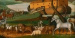 Animals entering ark